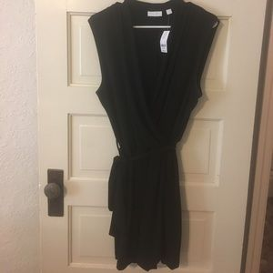 New! Black Wrap Romper NY&Co size XL