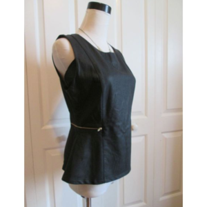 NWOT! Vegan leather top by FOREVER 21, sz M