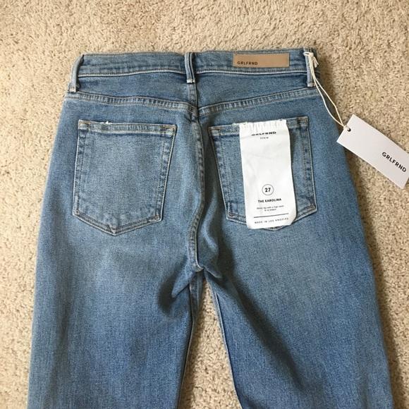 GRLFRND Jeans - GRLFRND Petite Karolina Skinny Jeans - size 27