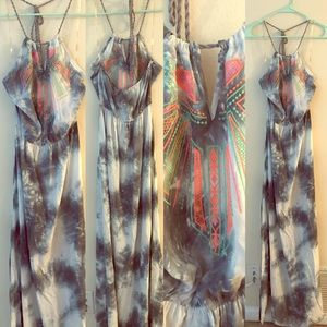 Dresses & Skirts - Tie die maxi dress
