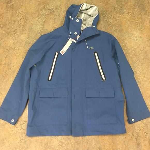 8451f3cc25 Lacoste Jackets & Coats | Live Hooded Deck Parka Jacket 58 Xxl ...