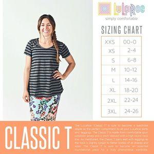 LuLaRoe Tops - LuLaRoe Classic Tee, Size 2XL