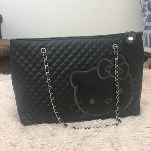 Hello Kitty - Hello Kitty Embossed Tote from Ana's closet on Poshmark : hello kitty quilted purse - Adamdwight.com