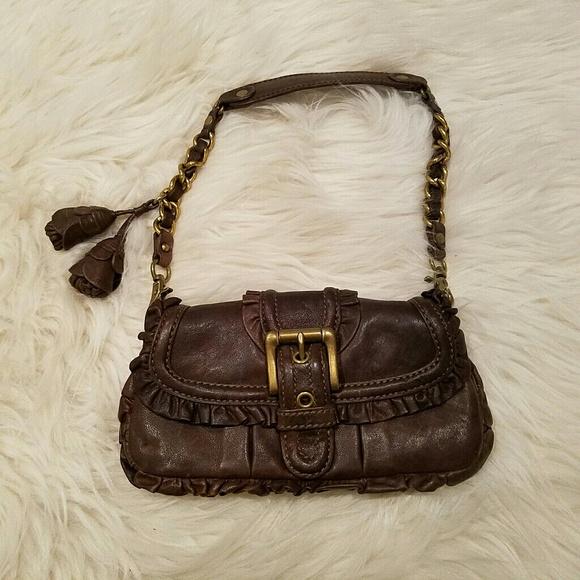 75591e936ec7 Chic  365 LOCKHEART Mini Hobo Ruffle Bag