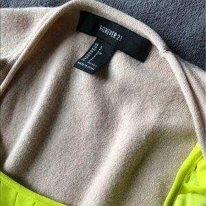 F21 Cream Sweater - Small