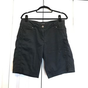Sale! ☀️ Black and Silver Bermuda Shorts