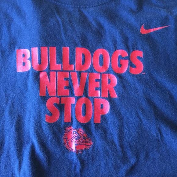 newest 4b4fe d1aab Gonzaga Bulldogs Men's Basketball Shirt