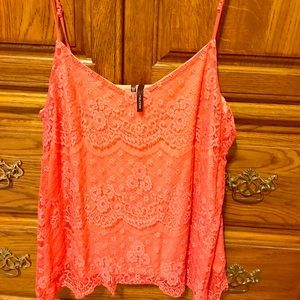 Lacy coral tank