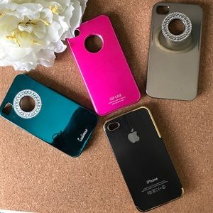 Accessories - 💥Bundle of 4 pc. iPhone 4 cases💥