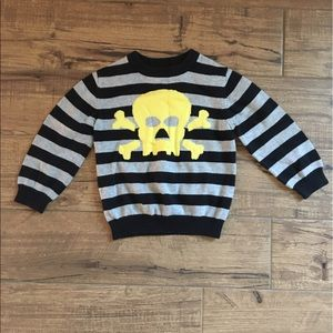 Cherokee Boys Skull & Crossbones Sweater 3T