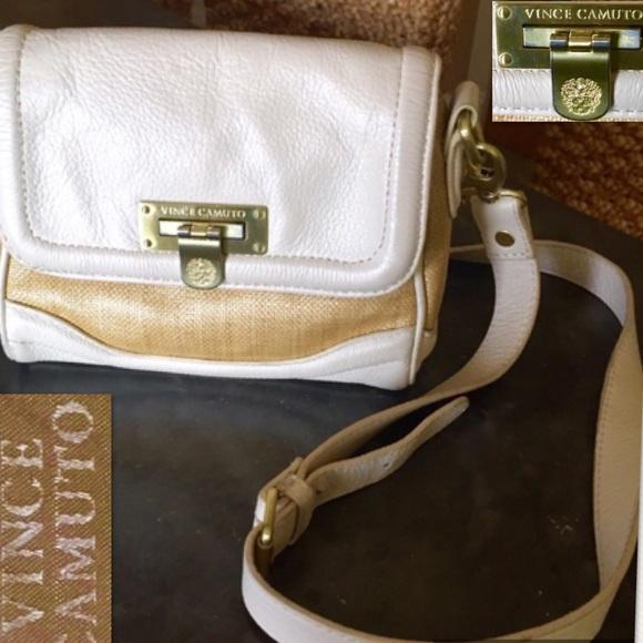 e750ee195759 On Sale!! Vince Camuto tan straw prfct summer bag