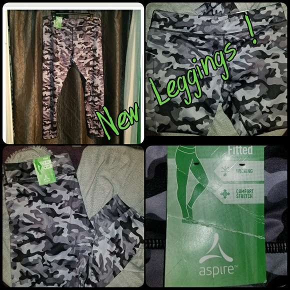8bfc319c88fd8 aspire Pants | Camo Leggings Price Drop Now Discount Ship | Poshmark