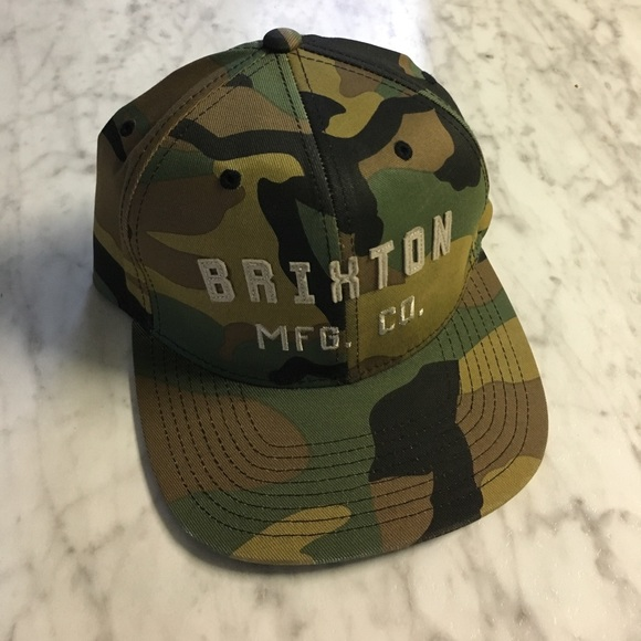 ff6139c449c Brixton Other - Brixton Camo Snapback Hat
