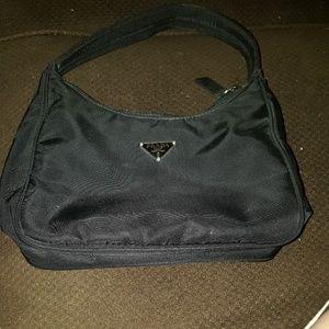 Vintage Black Prada Handbag