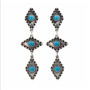 Turquoise 2Bandits Earrings