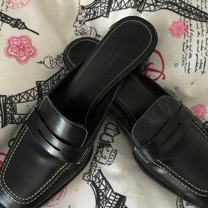 Cole Haan penny loafer slides