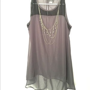 Sexy dress top with necklace