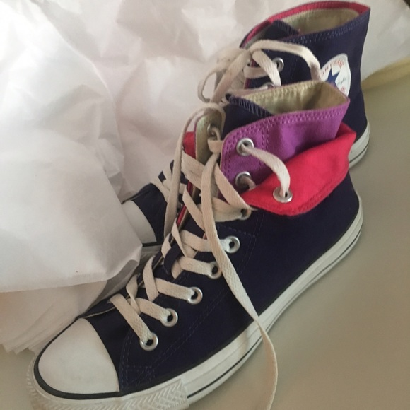 Converse All Star double layer shoes
