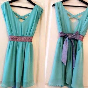 Turquoise Summer Dress!