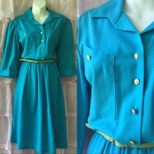 Gorgeous Vintage dress 80s 10