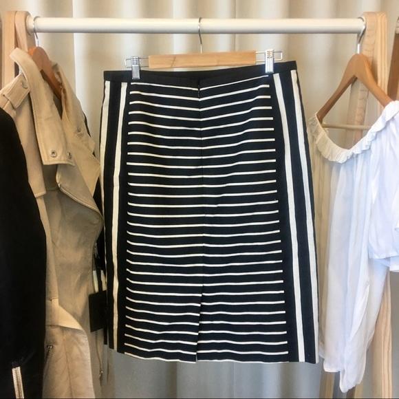 J. Crew Skirts - J. Crew Mixed Stripe No. 2 Pencil Skirt