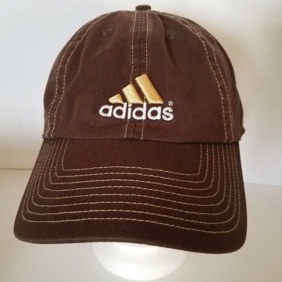 adidas Other - Adidas Hat Brown Adjustable Strap-Climalite 4446b7960a4