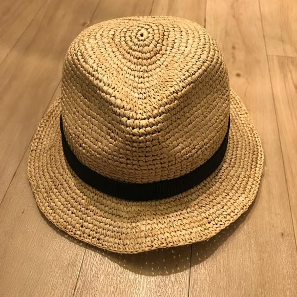 649b9233cc287 NWT JCrew packable straw hat s m