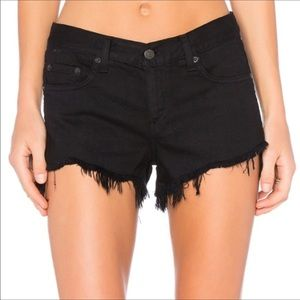 Rag & Bone frayed shorts