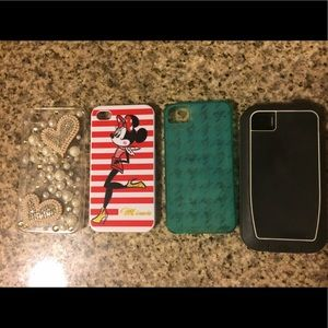 Accessories - iPhone 4 cases (set of 4)