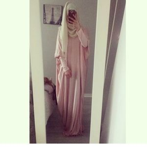 Dresses & Skirts - Batwing Jersey Loose maxi full length Abaya dress