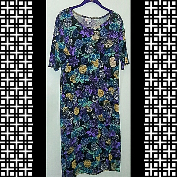 4dbaf6042de36a LuLaRoe Dresses | Salebeautiful Floral Julia Dress | Poshmark