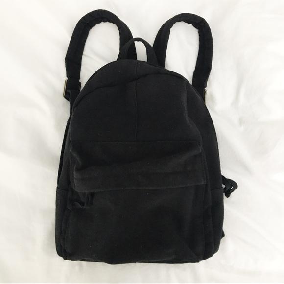 Brandy Melville Handbags - Brandy Melville Mini Canvas Backpack e7062e18fe76b