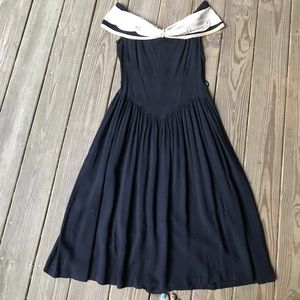 Vintage Off shoulder Dress