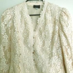 Jackets & Blazers - 1980s Cachet by Bari Protas Jacket