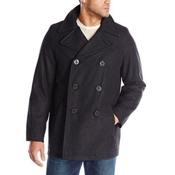 be6346da8e9 Big   Tall Tommy Hilfiger Charcoal Peacoat. M 59767f662de5122dba00f6b8