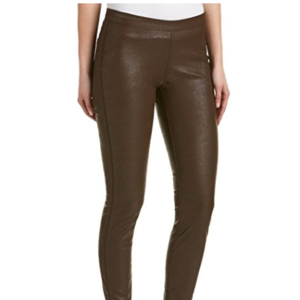 Blank NYC  Brown Pleather Skinny Leg Jegging - 29