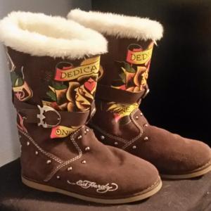 *FLASH* Ed Hardy boots