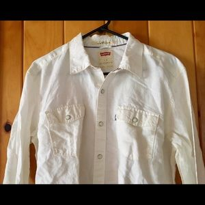 Pre owned whit man shirt