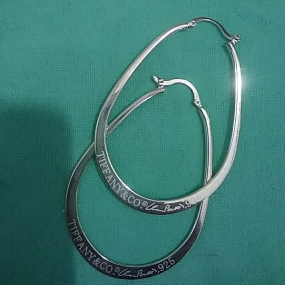 45d551a9c Tiffany & Co. Jewelry - 🌟TRADE🌟TIFFANY - ELSA PERETTI HOOP EARRINGS