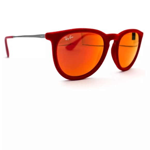 a909f280387 Ray-Ban Sunglasses ERIKA VELVET Red Mirror