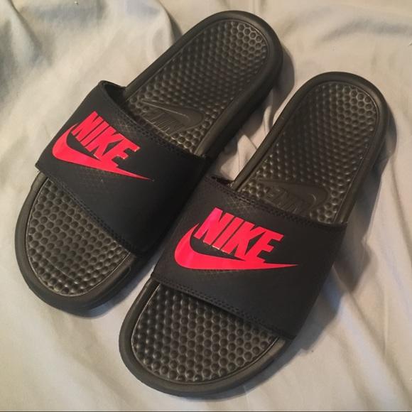 Black Nike Slides | Poshmark