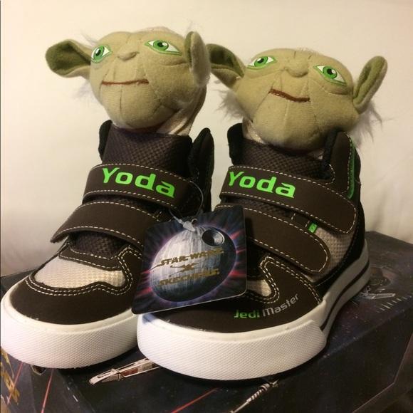 79ef723d84 NWT Skechers Yoda Toddler Boys