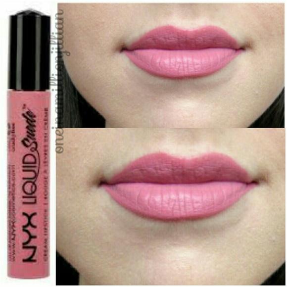 Nyx Makeup Liquid Suede Lipstick Tea Cookies Poshmark