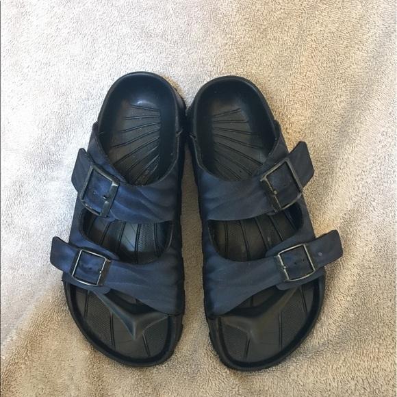 ec0393cbc29 Womens Birkenstock sandals blue straps 38 birkis. M 596eb299522b45af250093c6