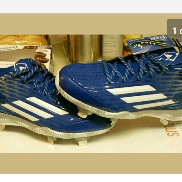 new styles 653d1 5ba00 adidas metal baseball cleats size 15