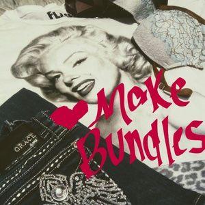 Tops - Feel free to bundle!