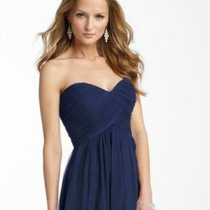 Donna Morgan Dresses - New DONNA MORGAN Silk Chiffon Strapless Dress