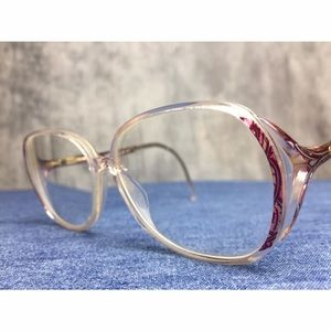 SILHOUETTE MADE IN AUSTRIA VINTAGE CLEAR FRAMES!!