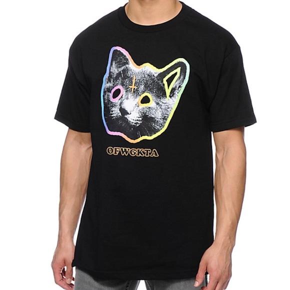 543466660c61 Odd Future OFWGKTA Tron Cat Black T Shirt. M 596ec126ea3f3694d5003dc1