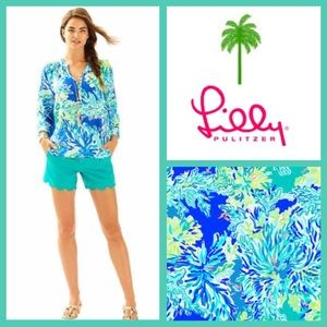 NWT Lilly Pulitzer, Elsa Top, in Wade & Sea